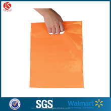 HDPE/ldpe material punched hole plastic bags