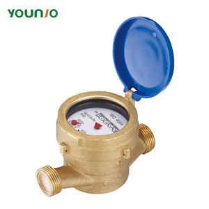 single jet wet type brass water meter medidor de agua