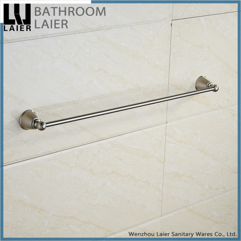 40424 chinese supplier bathroom accessories set wall mounted hotel modern ORB finish bathroom fittings single towel bar