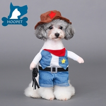 Dog Quality Policeman Pet Costumes for Cats and Small Dogs, Perfect for Halloween and Theme Party