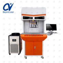 High quality benchtop 10W 30W 50W 100W 150W 300W co2 eyeglass frame marking wood sunglass engraving machine price