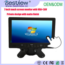 "Portable mini Multifunction 1080p 7"" tft touch screen led monitor"