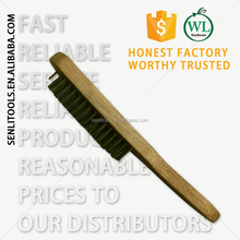 Steel Wire Brush with wooden Handle