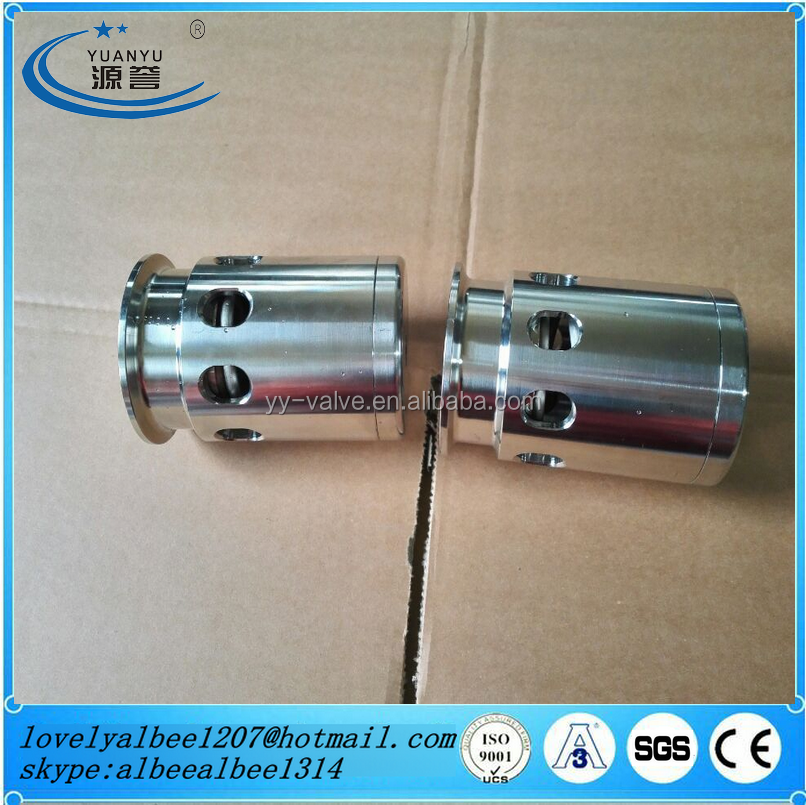 Sanitary stainless steel clamp safety Vacuum Relief valve/pressure relief valve/security valve