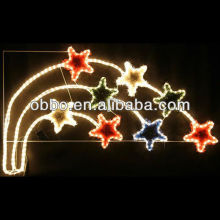 2013 new christmas lights falling christmas lights hanging metal star
