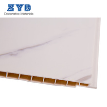 OTM factory price white interior luxury natural 3d pvc wall panels and ceilings