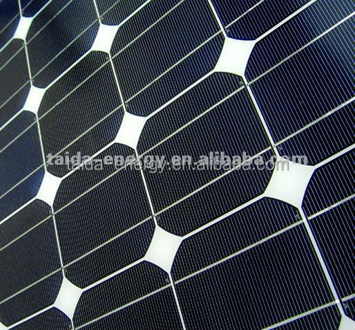 60Wp Solar Panel for Off Grid Use with PV-0502 Junction Box Type and Aluminum Frame