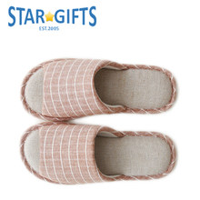 Fashion Check Wholesale Cotton New Models Slippers For Man
