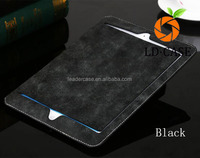 ultrathin Genuine Leather Case for iPad 2 and New iPad - Black, Tab Enclosure
