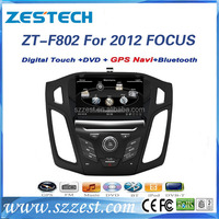 Zestech car dvd player For Ford Focus 2012 2013 Car DVD GPS Navigation GPS (OEM Factory Style, Free Maps)