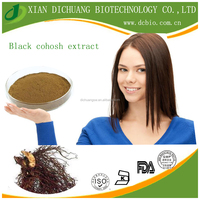 Wholesale Lowest price black cohosh extract 2.5% saponins UV