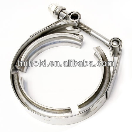 10 inch stainless steel large v types band toggle clamp