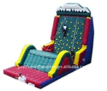 gaint climbing wall inflatable