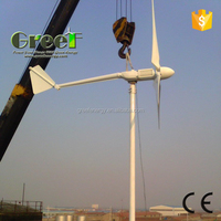 POP wind generatorwind turbine Maintanence free off-grid small windmill generator home use 600W 1KW 2KW 3KW 5KW 10KW 20KW 50KW