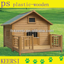 Eco-friendly Luxurious Outdoor Durable PS Dog Pet House for Sale