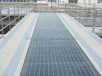 low carbon steel or stainless steel hot galvanized road drainage steel grating