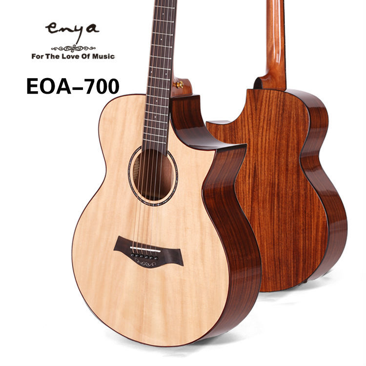 EOA-700 40inch solid spruce koa special enya factory wholesale acoustic guitar