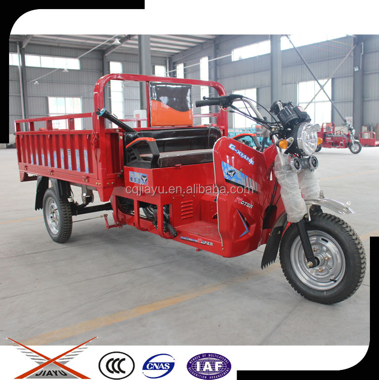 Small 175cc Three-wheel Motorcycle, Cargo Tricycle Bicycle for Sale