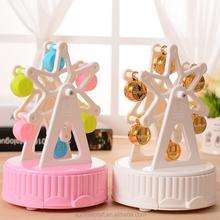 Plastic Full love Ferris wheel yunsheng music box girl's gift