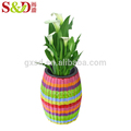 New style beautiful handmade plastic flower pot plant pot for garden