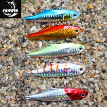 Hard plastic bait VIB lures with 3D eyes 75mm/24g for fishing lure