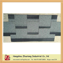 single layer regular 2-tab asphalt roofing shingle