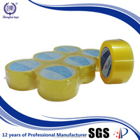 Korea Water-proof Yellowish or Brown BOPP Adhesive Tape Wholesale China
