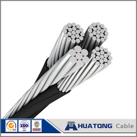 low voltage 3x95+70 aerial bundled twisted cable ABC cable