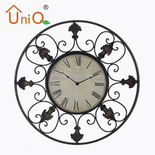 M2410 antique outdoor wall clock for living room
