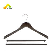 Space Saving Multi Pants Wooden Specialty Hanger with 2 bars