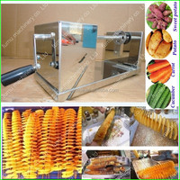 manual high quality stainless steel twister tornado spiral potato cutter