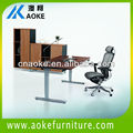 Metal cheap office desk with adjustable heights