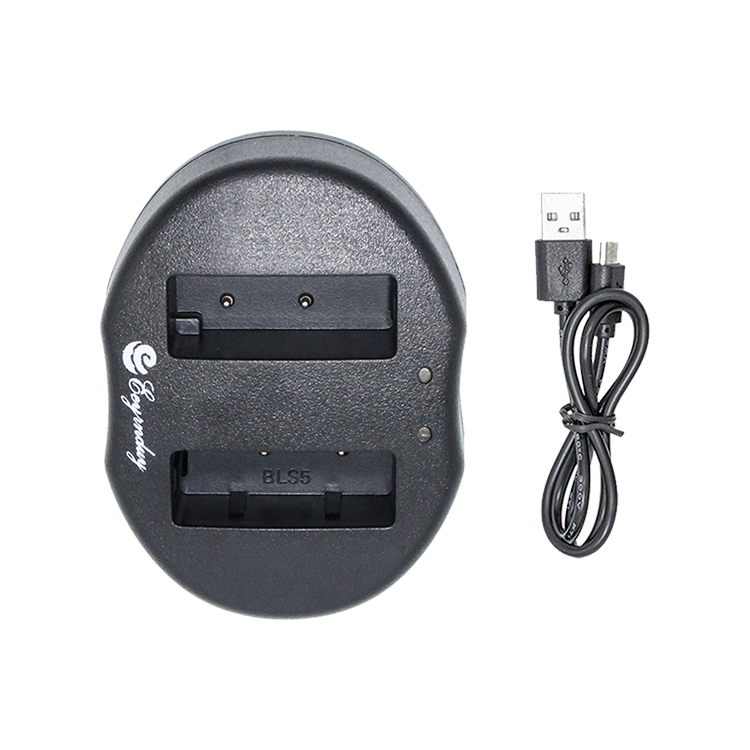 Dual Charger for Olympus PS-BLS1/BLS-5/BLS-50 Battery