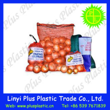 polypropylene fabric potato net bag/plastic leno mesh bag packaging potato