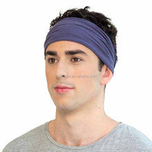 Plain headband elastic stretch sports yoga hairband Running Sports Head Band