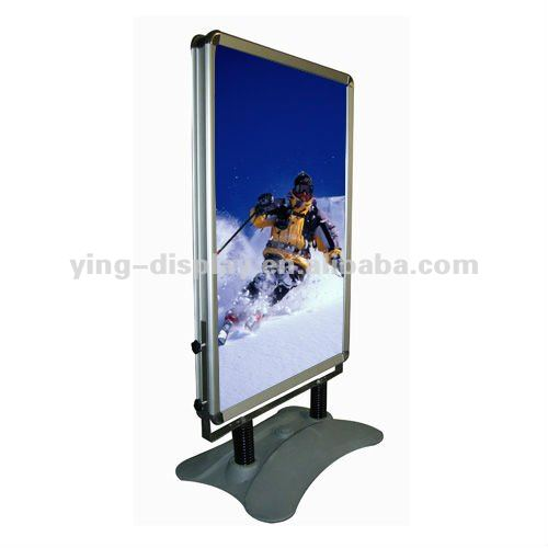 Guangzhou OEM A1 water base pavement sign with wheels