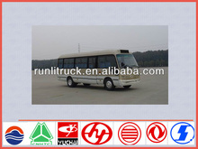 China bus supplier for dongfeng 7m 22 seater coaster mini bus sale in tata