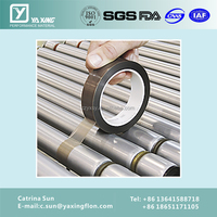 skived ptfe film with adhesive duct tape jumbo roll