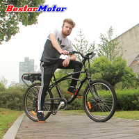 26'' 48V 500W Cruiser Style US Market Lithium Battery City Electric Bicycle