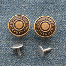 New Design 2014 Metal Jeans Shank Button for Jacket, Customized Size and Color Brass Material Jeanswear Denim Button JS-210-CR