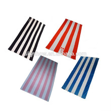 Wholesales custom stripe beach towel printed or woven towel