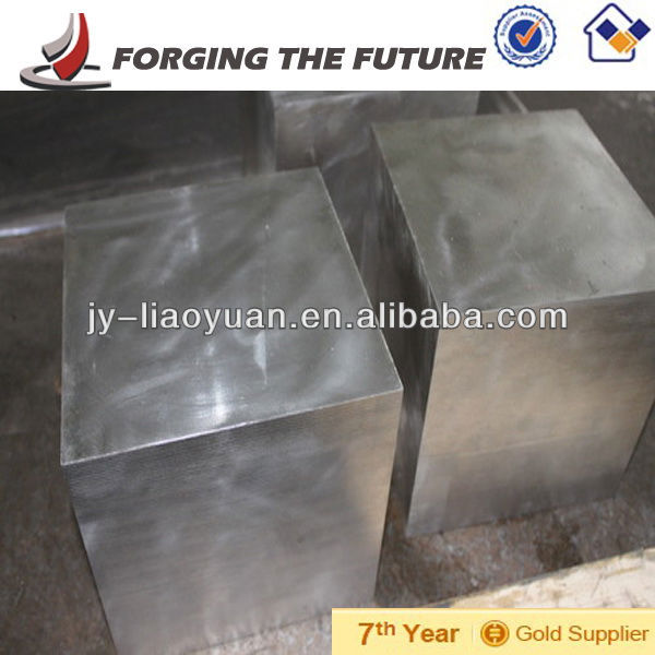 high temperature steel bloom open die forging parts