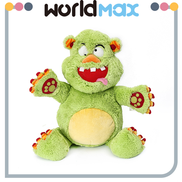 High Quality Cute Monster Soft Cartoon Toy Doll