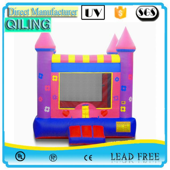 qiling special design party game looney tunes inflatable bouncer game