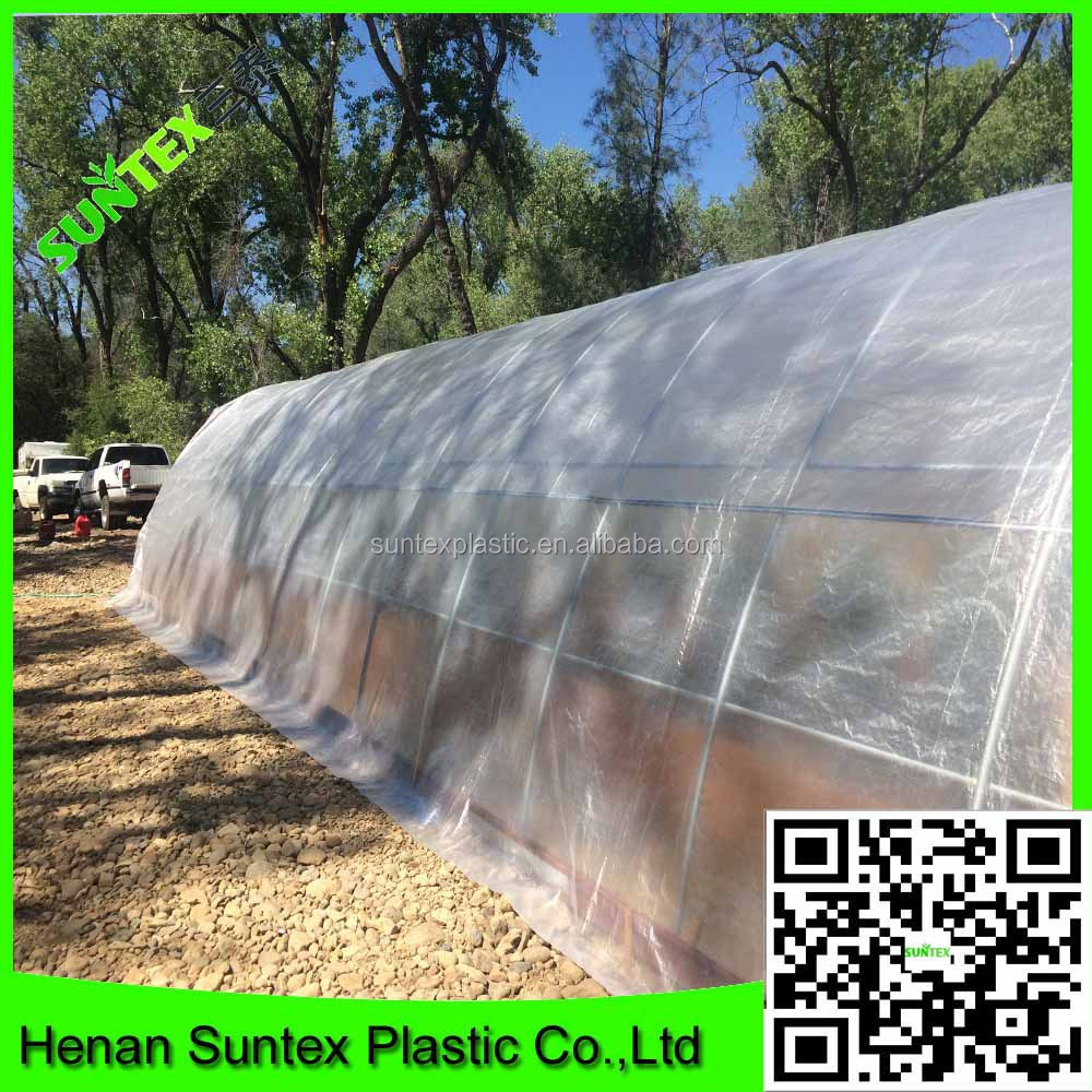 Higher Light Transmission Greenhouse Film For Optimum Plant Growth,China Manufacture Directly Supply Woven Fabric Film