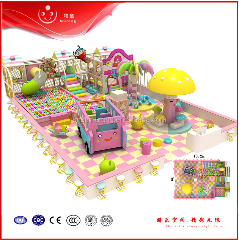 2016 Wholesale Price Used Children Commercial Indoor Playground Equipment for Sale