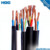 VDE 0250 standard Flexible NSSHOEU Rubber cable Tinned copper conductor Colored EPR insulation CPE jacket 1x25mm2 price