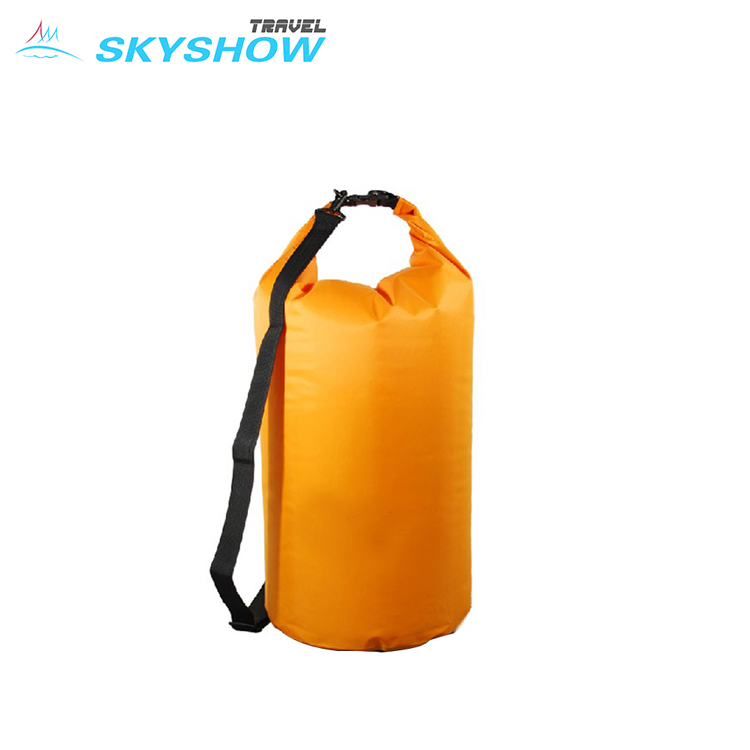 Hot Sale PVC Duffel Bag Dry Waterproof Backpack with Shoulder Strap