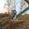 Grass and straw chooper machine for animal feeding