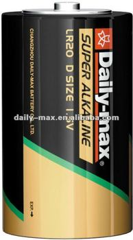 D Size Super Alkaline Battery(LR20)